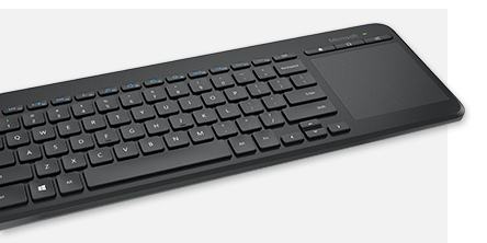Microsoft all in one media keyboard