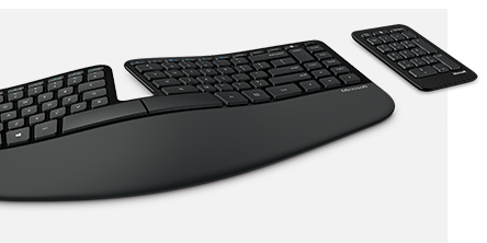 Microsoft Sculpt Ergonomic Desktop Keyboard Keypad